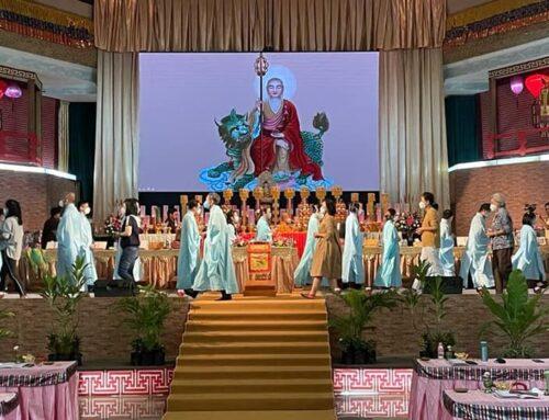大叢山西禪寺報恩月啓建盂蘭盆勝會 – Wihara Mahavira Monasteries Conducted Series of Gratitude Ullambana Prayer Ceremonies.